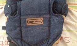 Baby carrier denim velvate material hardly used