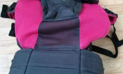 Very comfortable baby carrier. Airflow, good for hot