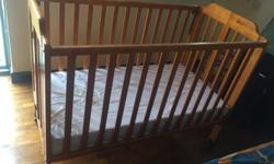 Baby cot for sale with mattress just for 220 dollars