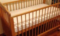 Baby cot without mattress