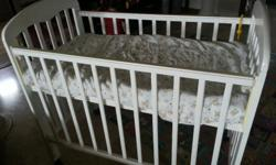 Baby cot for sale at $120. Very seldom used and in good