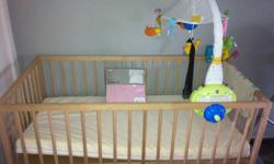 Brand new baby cot from Ikea ( L: 123cm, W: 66cm H: