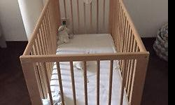 Selling Baby Cot, model Gulliver from IKEA. No