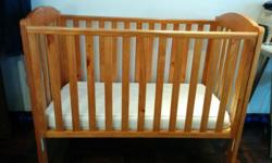 Selling Baby Cot with mattress, very good condition.