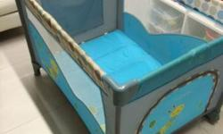 This baby cots used for 1 month only conditions still