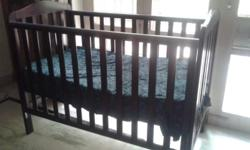 Moving out sale . Baby bed ,cot , brown color ,