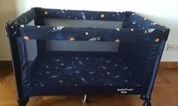 BabyCraft Travel cot in great condition, barely used,