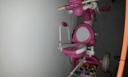 Baby cycle (Pink color) available in a good condition,