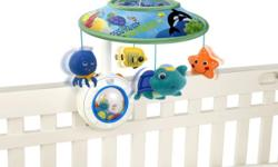 The Baby Einstein Sweet Sea Dreams Mobile - white noise