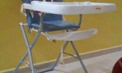 Baby High Chair [Used] - 1 year old - Seldom used. Good