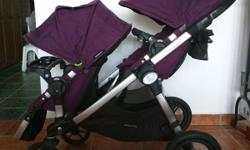 Baby Jogger City Select double stroller. Come with two