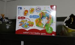 Selling mothercare baby play gym . Can be converted to
