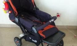 Only 2 months Old Baby 2 in 1 Pram/Stroller.Excellent