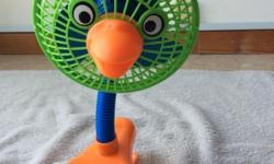 Cute design pram fan from Mothercare with original