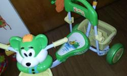 Baby Push bicycle **with music **used for only 4mos. If