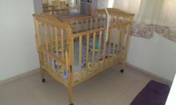 Baby's Crib for sale. 1 year old. In excellent