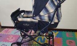 Selling good condition sturdy baby stroller. Brought it