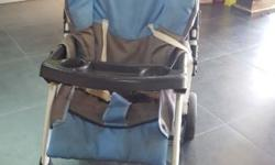 Baby stroller suitable upto 20 kg of weight. Rare used.