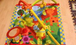 Very good condition baby stuff for sale: -- Play mat