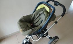 1) Bonbebe Baby Stroller (High End) Condition 9/10