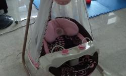 Beautiful baby swing for sale, by Fisher Price. Cradle