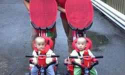 Hi! I'm selling my twin's Smart Trike Zoo Touch (seen