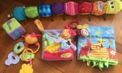Bundle consist of: Lamaze Inchworm Blossom farm finger