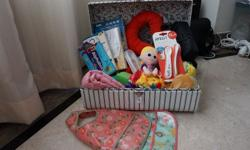 Comes in a hamper box * 1 bundle of cutlery and bibs
