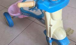 this one is a simple baby tricycle with nice rubber