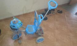 Kids tricycle bought from kiddy palace rarely used n in