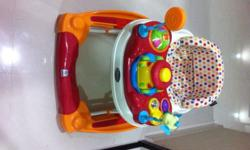 Baby Walker ( Baby One 2 in 1 Baby Walker and Rocker )