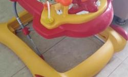 Selling baby walker in mint condition $25. And ikea