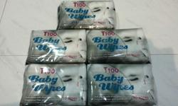 Baby Wipes   T100 Baby Wipes Soft wipes with Aloe