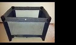 Used Babycraft Convertible Baby Cot/PlayPen with