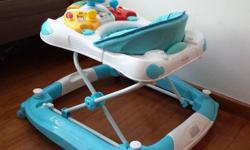 Almost like new baby activity walker. Bought about 4