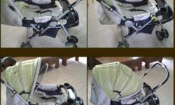 BabyOne stroller used. Up to 20kg Use only for a few