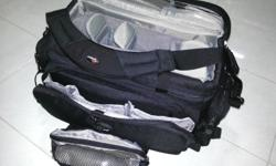 Selling this super under-utilised camera bag. Only used