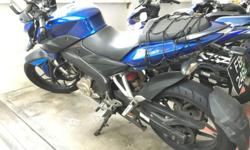 Pulsar NS 200 cc bike. Very Good condition and accident