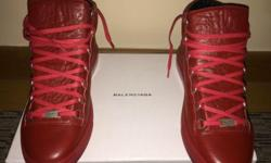 Brand new Balenciaga Arena Red shoes size 43US