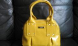 Brand new authentic kate spade bag (custard color) for