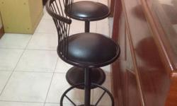 Hi There, Selling away cheap 02 Bar Counter Chairs at