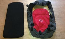 Bassinet for Bugaboo Stroller with matress. Red in