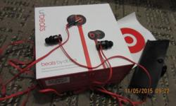For sale beats red black, rarely use, in really good