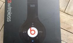 Beats wireless bluetooth headphone. Black. Dr dre.