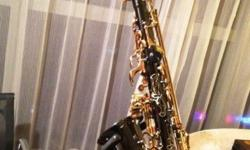 Beautiful Alto Saxophone (see pictures) for sale as i