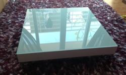 Beautiful custom made designer low coffee table in