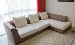 I'm selling my lounge sofa. It's made of imported