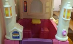 very good condition playhouse ( pink and purple ) by