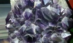 Beautiful purple crystal rock for sale. Good for