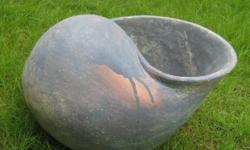 Big beautiful shell pot for your plants or just for
